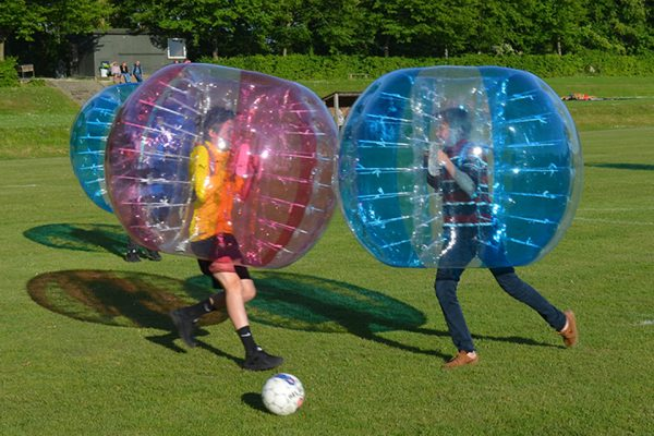 Bumper balls takling