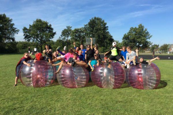 Bumper ball event for skoler og virksomheder