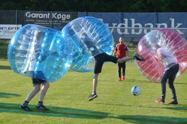 Bumper ball fodbold