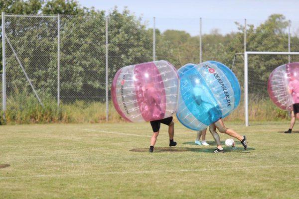 Bumper balls fra storekugler.dk - garanteret sjov