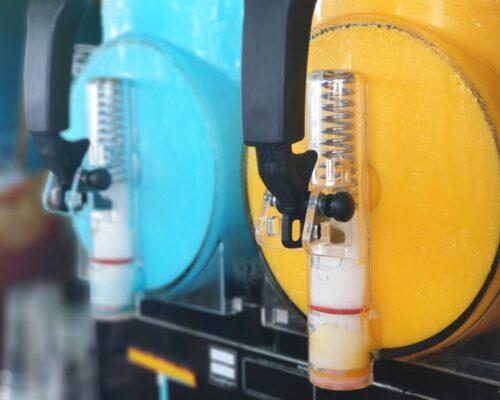 Tofarvet Slush Ice maskine